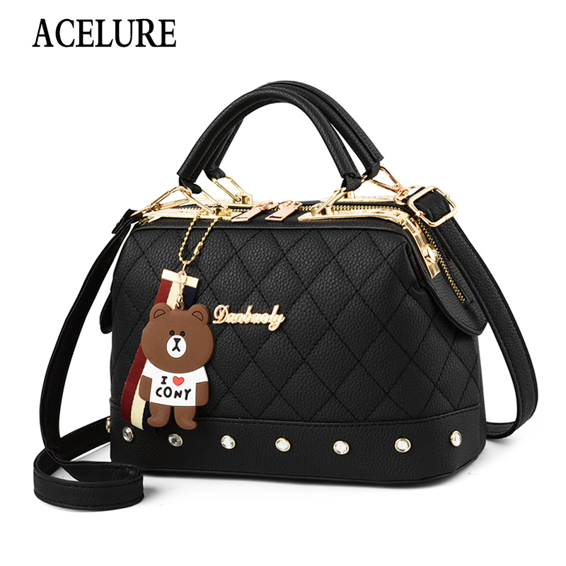 Female Crossbody Bags For Women High Quality Leather Famous Brand Luxury Handbag Designer Sac A Main Ladies Shoulder Bag ACELURE