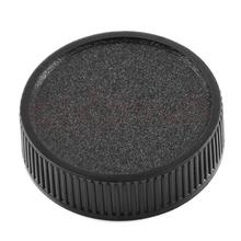 1Pc tylny obiektyw pokrywa dla M42 42mm 42 śruba do mocowania czarny tanie tanio DNVYUAX CN (pochodzenie) Lens Cap38571