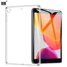 Case For iPad 10.2 2019 TPU Silicone Clear Ultra Thin Soft Case for iPa