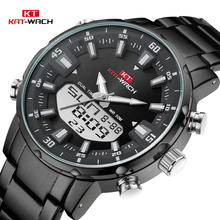 KAT-WACH Top Brand Men Watch Waterproof Sports Digital Watches