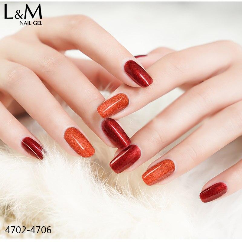 ibdgel luxuoso red cor das unhas de 04