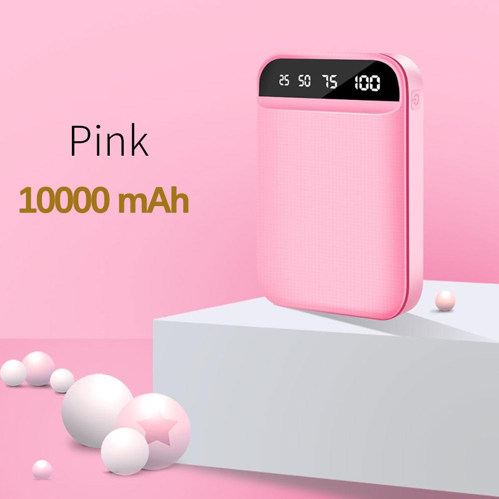 10000mAh Pink