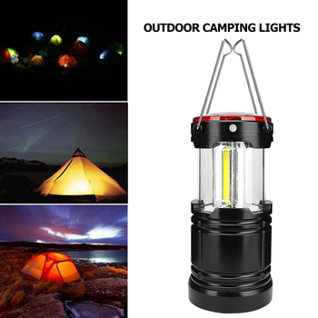 120lm Portable LED Camping Light Outdoor Tent Lamp Hiking Fishing Lanterns Emergency Lights with Magnets Dropshipping cob work light flashlight examining light led camping lamp led tent light portable lanterns foldable torch lamp portable lights