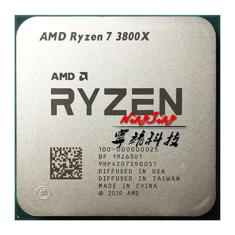 Amd Ryzen 7 3800x R7 3800x 3 9 Ghz Eight Core Sixteen Thread Cpu Processor 7nm L3 32m 100 000000025 Socket Am4 Cpus Aliexpress