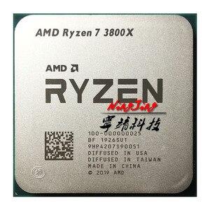 Image 1 - AMD Ryzen 7 3800X R7 3800X3.9 GHz osiem Core szesnaście z gwintem procesor CPU 7NM L3 = 32M 100 gniazdo 000000025 AM4