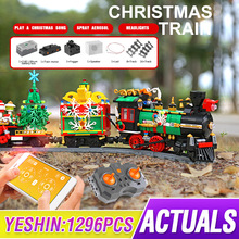 Toys Mould King Building-Blocks Railway-Track City-Creator Christmas-Gifts Children