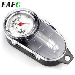 Image 1 - Manomètre analogique de pression dair de pneu de roue automatique, compteur poignée miroir en forme de véhicule, testeur de pneu de voiture, système de surveillance de lair