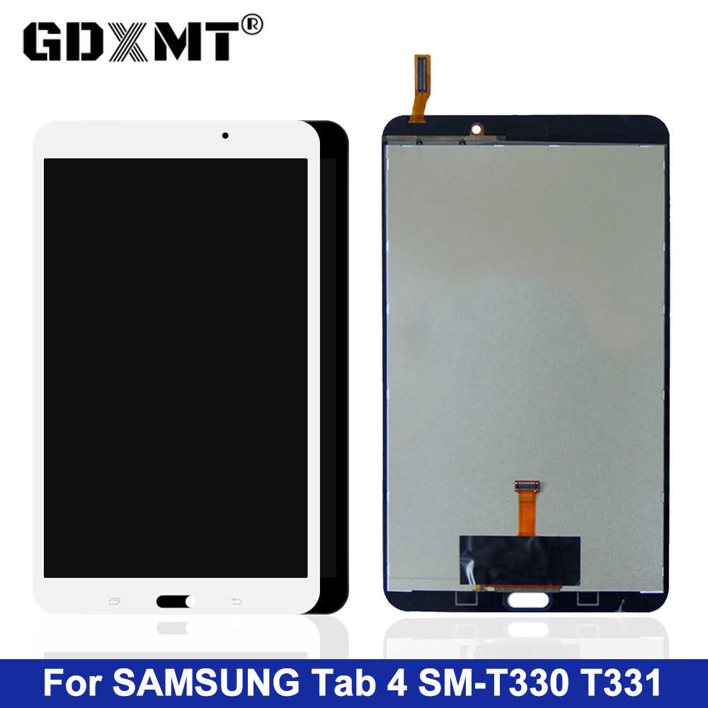 For Samsung Galaxy Tab 4 8.0 SM-T330NU T330 T331 SM-T331 T337 LCD Display Touch Screen Digitizer Assembly Panel Part Tablet LCDs
