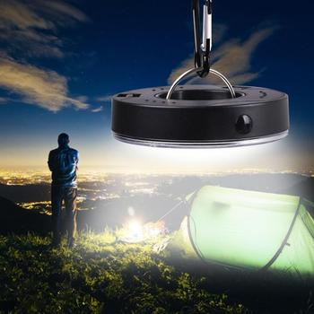 Portable LED Camping Light 3 Modes COB Clip Light Hook Flashlight Tent Emergency Lamp Hanging Lantern Nightlight mini portable lantern tent light outdoor emergency hanging hook flashlight 3 modes carabiner bulb light 4 colors emergency light
