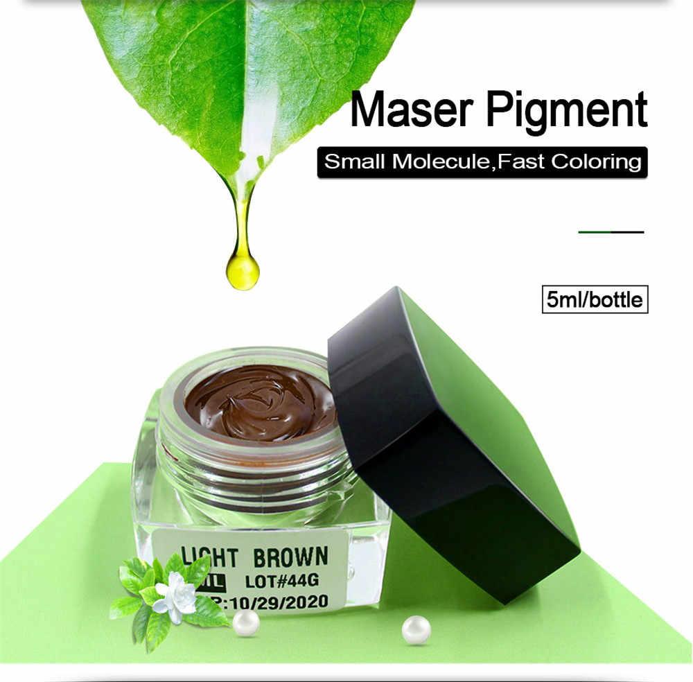 Maser Professional TATTOO Microblading Pigment Professional Eyebrow Micro TATTOO Ink LIPSแต่งหน้าPigment TATTOO microbladingหมึก