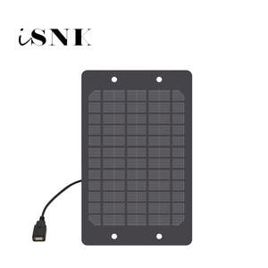 Image 1 - 태양 전지 패널 충전기 5V 2W 3W 5W 6W USB 포트 다결정 태양 전지 DIY 태양 충전 배터리 5V USB 케이블 30cm