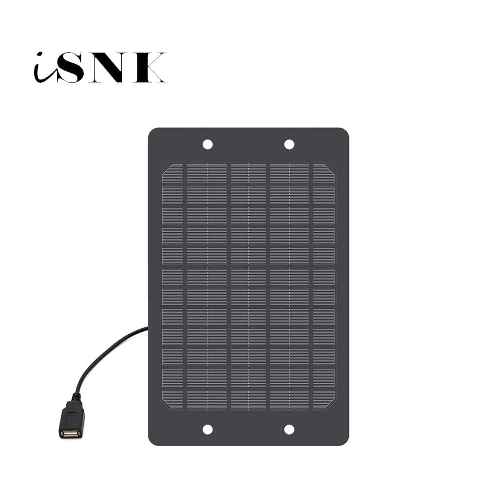 Зарядное устройство для солнечной панели, 5 В, 2 Вт, 3 Вт, 5 Вт, 6 Вт, с USB-портом