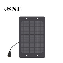 Solar Panel Charger 5V 2W 3W 5W 6W with USB Port Polycrystalline Solar Cell DIY Solar Charge Battery 5V USB cable 30cm