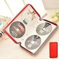 Портативный большой Ёмкость диск CD DVD/VCD/кошелек для хранения Организатор чехол с застежкой-молнией Жесткая Сумка из EVA коробка для альбома