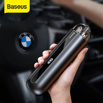 цена на Baseus Portable Car Vacuum Cleaner Wireless Handheld Auto Vaccum 5000Pa Suction For Home Desktop Cleaning Mini Vacuum Cleaner