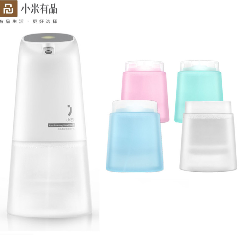 For Xiaomi Xiaoji Hand Wash Hand Soap Liquid Infrared Auto Induction Foaming Washer Soap Dispenser For Xiaomi Mijia Smart Famliy