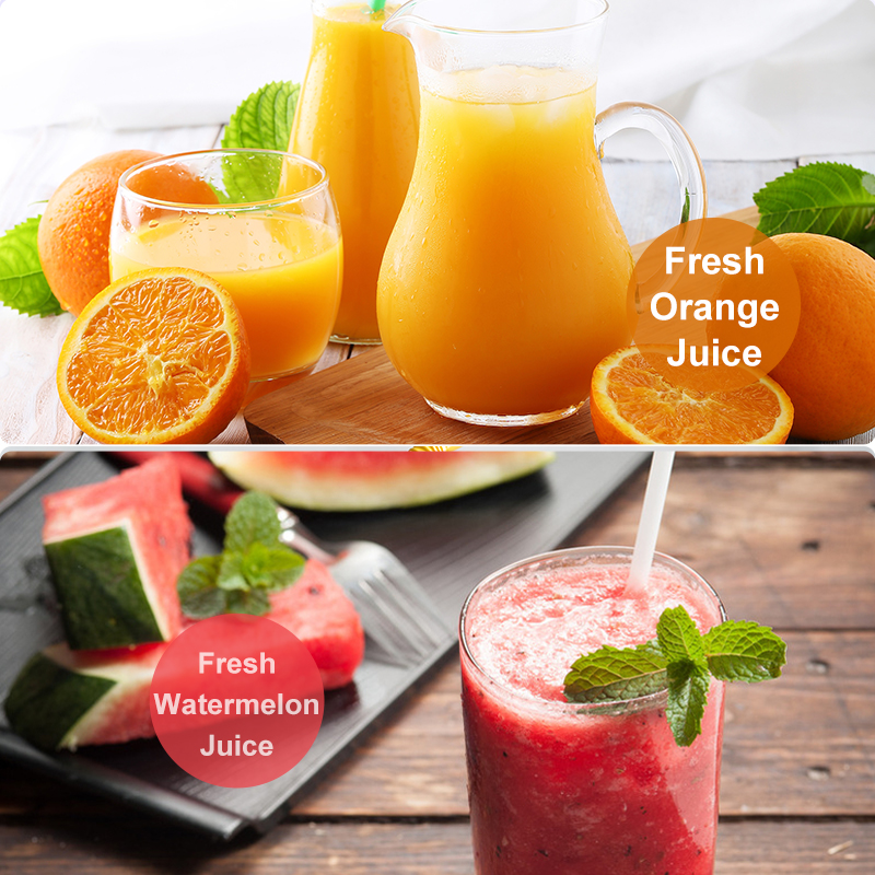 Image 2 - Portable fruit Juicer Blender Travel Personal USB Mixer Juice Cup with safe protection 300ML portable usb electric juicer-in Manual Juicers from Home & Garden