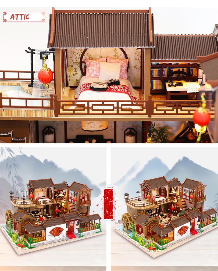 Cutebee A Splendid Family DIY Dollhouse