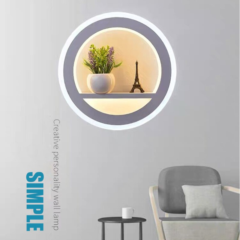 LED wall lamp bedroom light nordic wall lamps dimmable living room wall bedside lamp led wall Light for home bathroom fixture 4