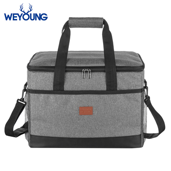 New 33L Insulated Thermal Cooler Lunch box bag for work Picnic bag Car ice pack Bolsa termica loncheras para mujer for tourism