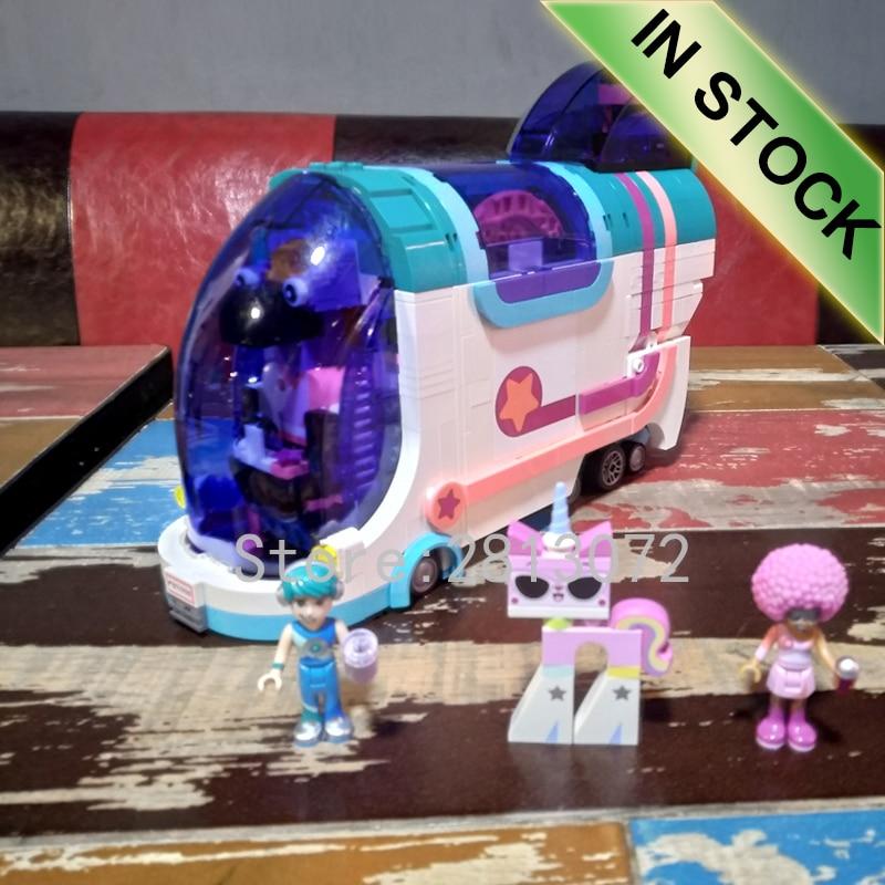 45007In films en Stock le modèle de bus de fête de rêve transformé 1024 pièces blocs de construction briques jouets compatibles avec 70828 11251 jouets