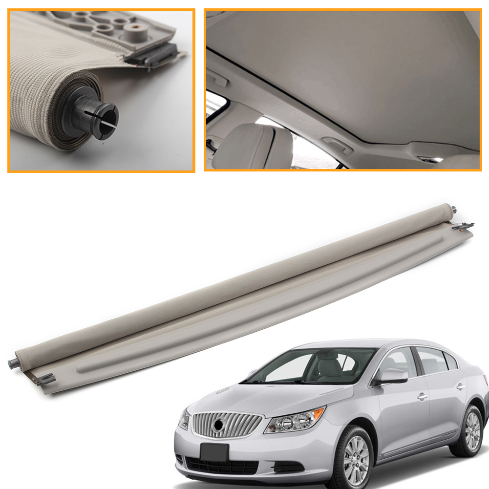 Teto Solar do carro Teto Solar Sombrinha Sombra Capa Para Buick LaCrosse GM 2010 2011 2012 2013 2014 2015 16 Cinza 22859425