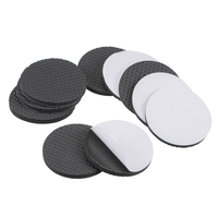 uxcell Furniture Pads Adhesive EVA Pads 50mm Dia 4mm Thick Round Black 12Pcs|Furniture Pads| |  -