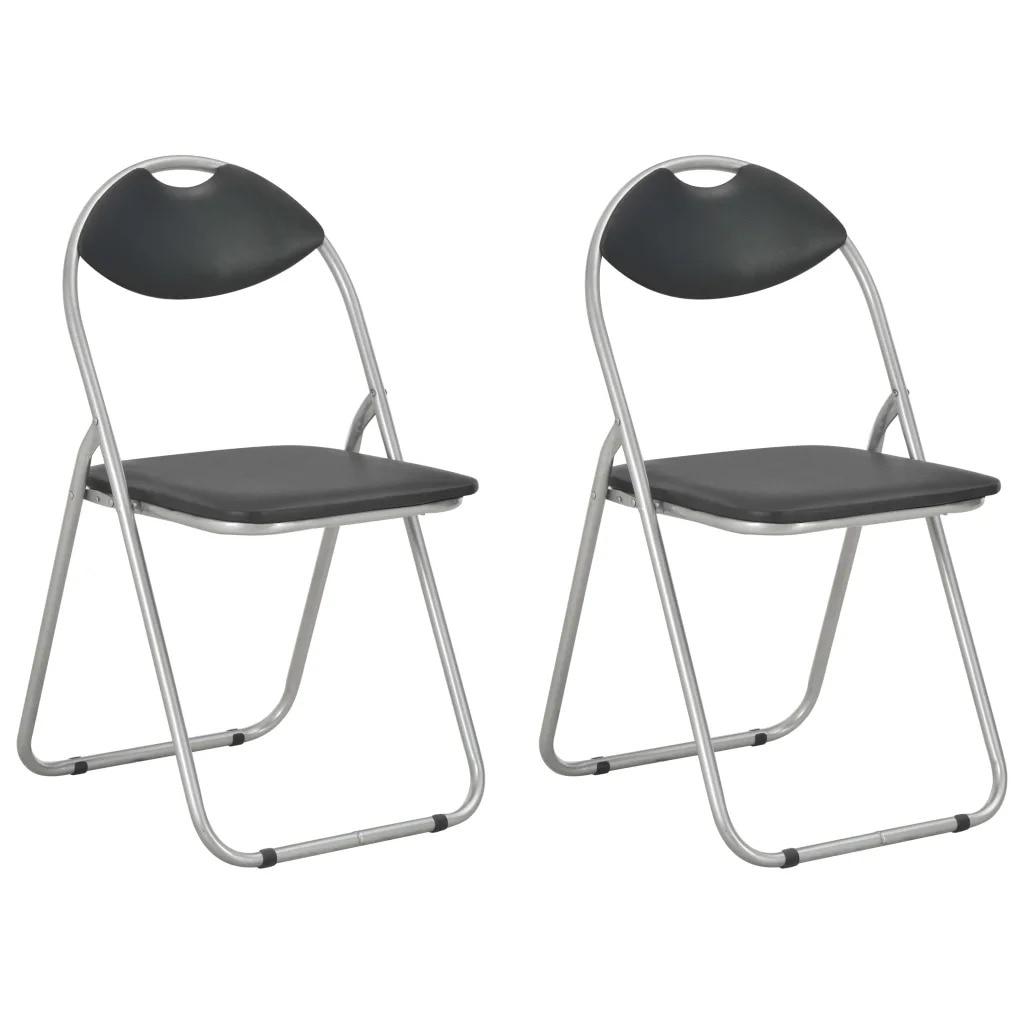 VidaXL Folding Dining Chairs 2pcs 284407