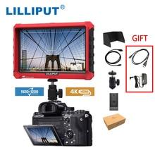 جهاز المراقبة الميدانية لكاميرا lilliplace A7S مقاس 7 بوصة 1920x1200 HD IPS شاشة 500cd/m2 4K HDMI إدخال إخراج الفيديو لكاميرا DSLR بدون مرآة