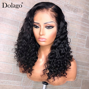 Image 4 - Loose Wave 360 Lace Frontal Wig 250 Density 13x6 Lace Front Human Hair Wigs With Baby Hair Wavy U Part Wig Dolago Remy
