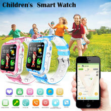 E7 Kids GPS Smart Watch Security Anti Lost SOS Long Standby Waterproof Watch(China)