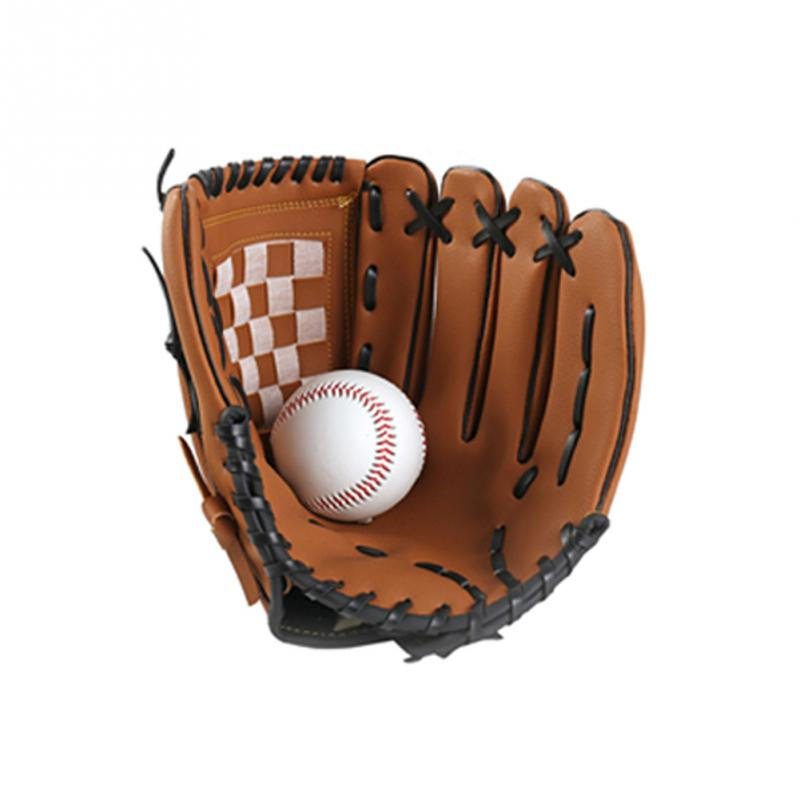 Outdoor Sports Three colors Baseball Glove Softball Practice Equipment Size 9.5/10.5/11.5/12.5 Left Hand for Adult