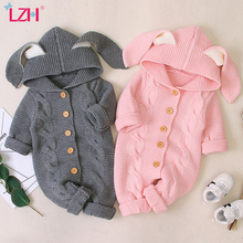 Autumn Newborn Baby Clothes Cardigan Hooded Baby