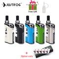 В наличии электронная сигарета JustFog Compact 14 Комплект 1500 мАч встроенный аккумулятор с 5 шт. Justfog Coil vs Justfog Q16/Q14 Kit