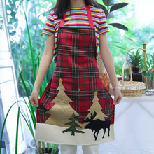 Nordic Cotton Twist Home Apron Christmas Kitchen Aprons Home Kitchen Cooking Baking Cleaning Accessories