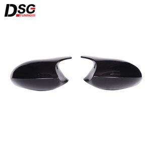 Image 1 - ABS Gloss Black Rear View Mirror Caps For BMW 3 Series E90 E91 05 07 & E90 E92 06 09 Replacement Cover E81 E82 E87 E88 pre LCI