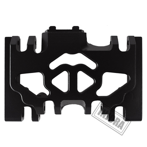 Image 5 - INJORA 1PCS Aluminum Metal Gearbox Mount Holder for 1/10 RC Crawler TRAXXAS TRX4 TRX 4
