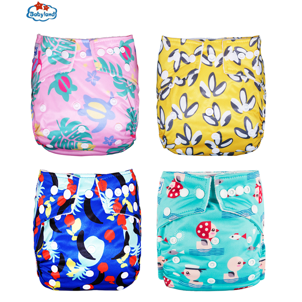 Washable Baby Diapers Reusable Adjustable Pocket Nappy BAMBOO Insert Cloth Pants
