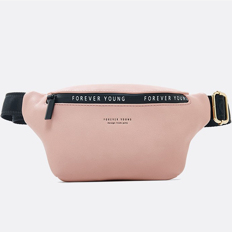 New Fashion Hhigh Quality Women Belt Bag   Shoulder Waist Bags Leather Chest Belt Packs