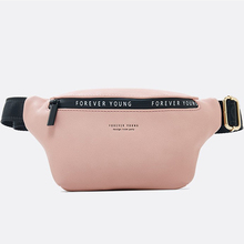 New fashion Hhigh quality Women Belt bag  Shoulder Waist Bags Leather Chest Packs