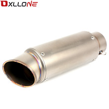 Universal Motorcycle Akrapovic Exhaust Modify Motocross Muffler For kawasaki Ninja 300 ABS SE VERSYS 300X