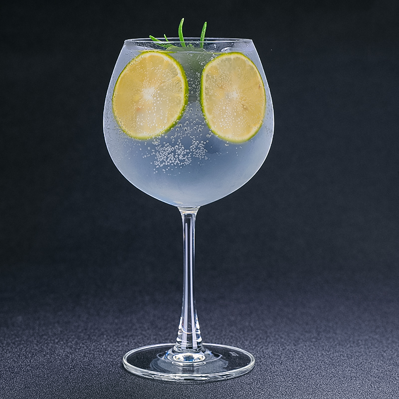 Free Shipping 2CPS 625ml Gin & Tonic Glass Cocktail Glass Wine Glass Set of 2 image