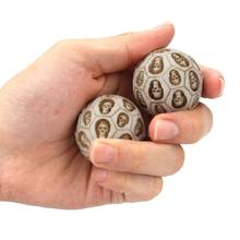 2021 nuevo 2 unids/set resina cráneo balonmano salud ejercicio alivio estrés Bola de masajes para ejercicios