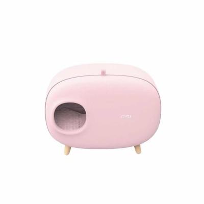 Кошачий Туалет, песочный горшок, полностью герметичный, большой, анти всплеск и запах, ящик, опрокинутый, кошачий навоз, принадлежности для к... - 5