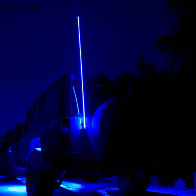Flag-Light Sand Safety-Antenna Atv-Truck Buggy Ambient UTV LED for Jeep title=