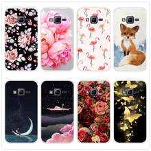 Case for Samsung Galaxy J1 mini prime Soft Silicone TPU Patterned Print Phone Cover for Samsung J1 mini prime Case Cover(China)
