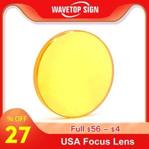 Image 1 - Odak lensi ABD CVD ZnSe Dia 12 15 18 19.05 20 25 FL 38.1 50.8 63.5 76.2 101.6 127mm CO2 Lazer Oyma Kesme Makinesi