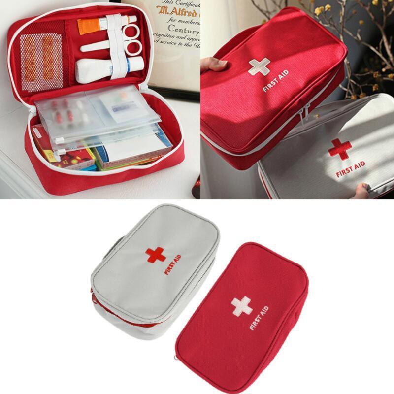 Multifunction Emergency Bag Zipper Nylon Pouch Camping Survival Kit Portable Medical Bag First Aid Kit Bag Medicine Organizer
