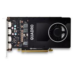 Leadtek NVIDIA Quadro P2200 5 Гб профессиональный графический дизайн рабочей станции графическая карта используется оригинал