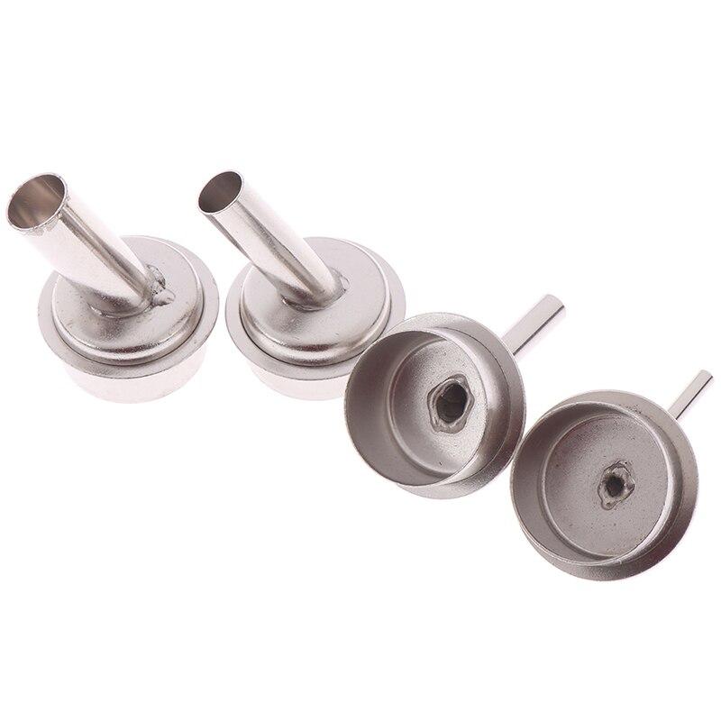 1Pcs 45 Degree Bent Curved Heat Nozzle 3/5/8/10mm Hot air Gun Nozzles for QUICK 861DW Soldering Station